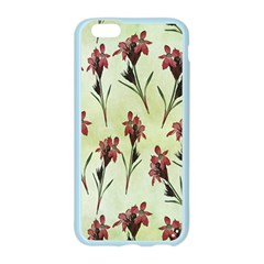 Vintage Style Seamless Floral Wallpaper Pattern Background Apple Seamless iPhone 6/6S Case (Color)