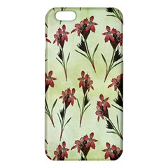 Vintage Style Seamless Floral Wallpaper Pattern Background iPhone 6 Plus/6S Plus TPU Case
