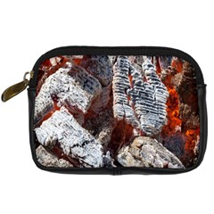 Wooden Hot Ashes Pattern Digital Camera Cases