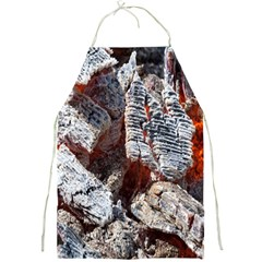 Wooden Hot Ashes Pattern Full Print Aprons