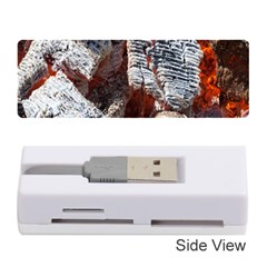Wooden Hot Ashes Pattern Memory Card Reader (stick)