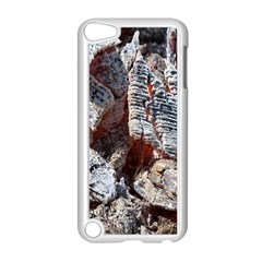 Wooden Hot Ashes Pattern Apple iPod Touch 5 Case (White)