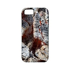 Wooden Hot Ashes Pattern Apple Iphone 5 Classic Hardshell Case (pc+silicone)