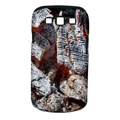 Wooden Hot Ashes Pattern Samsung Galaxy S III Classic Hardshell Case (PC+Silicone)