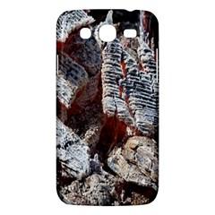 Wooden Hot Ashes Pattern Samsung Galaxy Mega 5.8 I9152 Hardshell Case