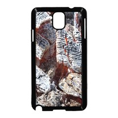 Wooden Hot Ashes Pattern Samsung Galaxy Note 3 Neo Hardshell Case (Black)