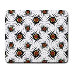 Pearly Pattern Half Tone Background Large Mousepads
