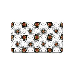 Pearly Pattern Half Tone Background Magnet (name Card)