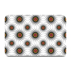 Pearly Pattern Half Tone Background Plate Mats