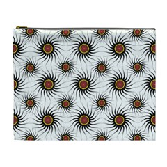 Pearly Pattern Half Tone Background Cosmetic Bag (xl)