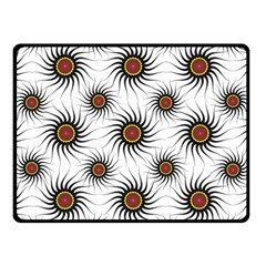 Pearly Pattern Half Tone Background Fleece Blanket (Small)