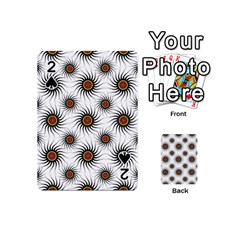 Pearly Pattern Half Tone Background Playing Cards 54 (mini)