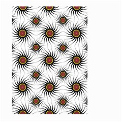 Pearly Pattern Half Tone Background Large Garden Flag (Two Sides)
