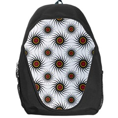 Pearly Pattern Half Tone Background Backpack Bag