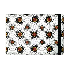 Pearly Pattern Half Tone Background Apple iPad Mini Flip Case