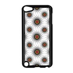 Pearly Pattern Half Tone Background Apple iPod Touch 5 Case (Black)