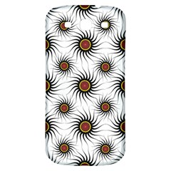 Pearly Pattern Half Tone Background Samsung Galaxy S3 S Iii Classic Hardshell Back Case