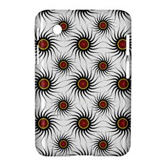 Pearly Pattern Half Tone Background Samsung Galaxy Tab 2 (7 ) P3100 Hardshell Case