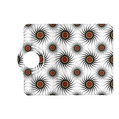 Pearly Pattern Half Tone Background Kindle Fire HD (2013) Flip 360 Case
