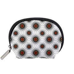 Pearly Pattern Half Tone Background Accessory Pouches (Small)