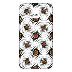 Pearly Pattern Half Tone Background Samsung Galaxy S5 Back Case (white)