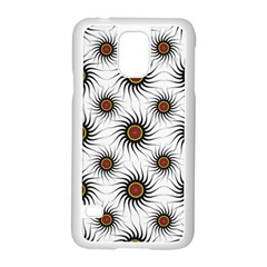 Pearly Pattern Half Tone Background Samsung Galaxy S5 Case (White)