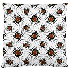 Pearly Pattern Half Tone Background Standard Flano Cushion Case (One Side)