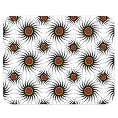 Pearly Pattern Half Tone Background Double Sided Flano Blanket (Medium)