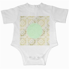 Seamless Abstract Background Pattern Infant Creepers