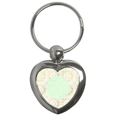 Seamless Abstract Background Pattern Key Chains (Heart)