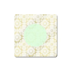 Seamless Abstract Background Pattern Square Magnet