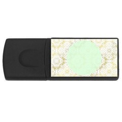 Seamless Abstract Background Pattern USB Flash Drive Rectangular (4 GB)