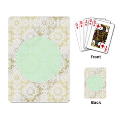 Seamless Abstract Background Pattern Playing Card