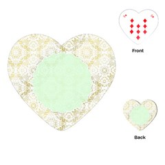 Seamless Abstract Background Pattern Playing Cards (heart)