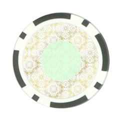 Seamless Abstract Background Pattern Poker Chip Card Guard