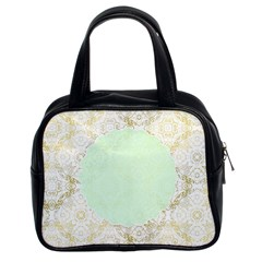 Seamless Abstract Background Pattern Classic Handbags (2 Sides)
