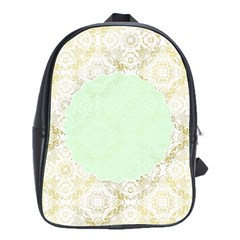 Seamless Abstract Background Pattern School Bags(Large)