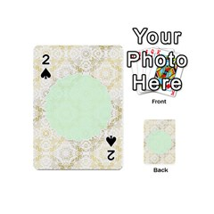 Seamless Abstract Background Pattern Playing Cards 54 (Mini)