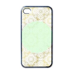 Seamless Abstract Background Pattern Apple Iphone 4 Case (black)