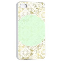 Seamless Abstract Background Pattern Apple iPhone 4/4s Seamless Case (White)