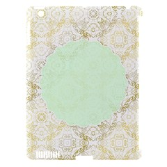 Seamless Abstract Background Pattern Apple iPad 3/4 Hardshell Case (Compatible with Smart Cover)