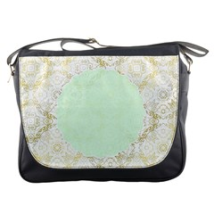 Seamless Abstract Background Pattern Messenger Bags