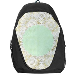 Seamless Abstract Background Pattern Backpack Bag