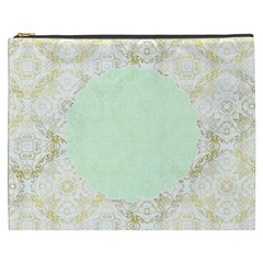 Seamless Abstract Background Pattern Cosmetic Bag (XXXL)