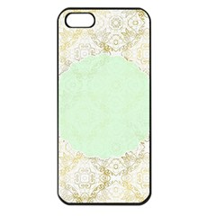 Seamless Abstract Background Pattern Apple iPhone 5 Seamless Case (Black)