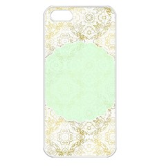Seamless Abstract Background Pattern Apple Iphone 5 Seamless Case (white)