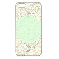 Seamless Abstract Background Pattern Apple Seamless iPhone 5 Case (Clear)