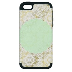 Seamless Abstract Background Pattern Apple iPhone 5 Hardshell Case (PC+Silicone)