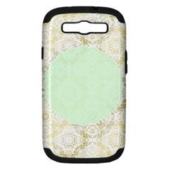 Seamless Abstract Background Pattern Samsung Galaxy S III Hardshell Case (PC+Silicone)