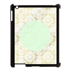 Seamless Abstract Background Pattern Apple iPad 3/4 Case (Black)
